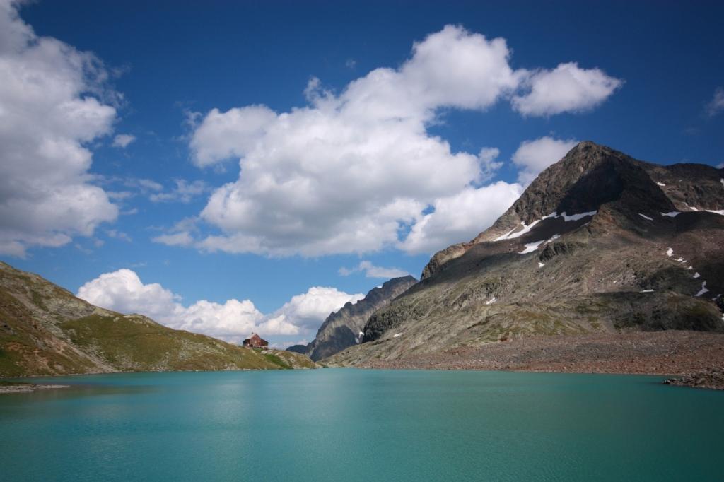 Gradensee tó a Hohe Tauern Nemzeti Parkban